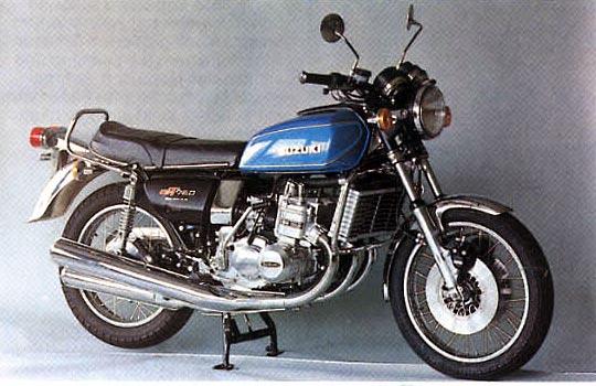 Image on 1977 Suzuki Gs750